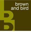 Brown & Bird cmyk logo