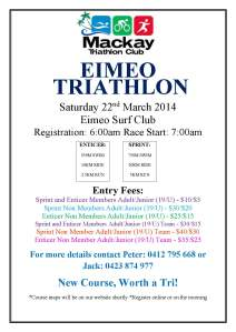 Eimeo Triathlon