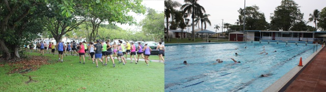 Aquathon Collage