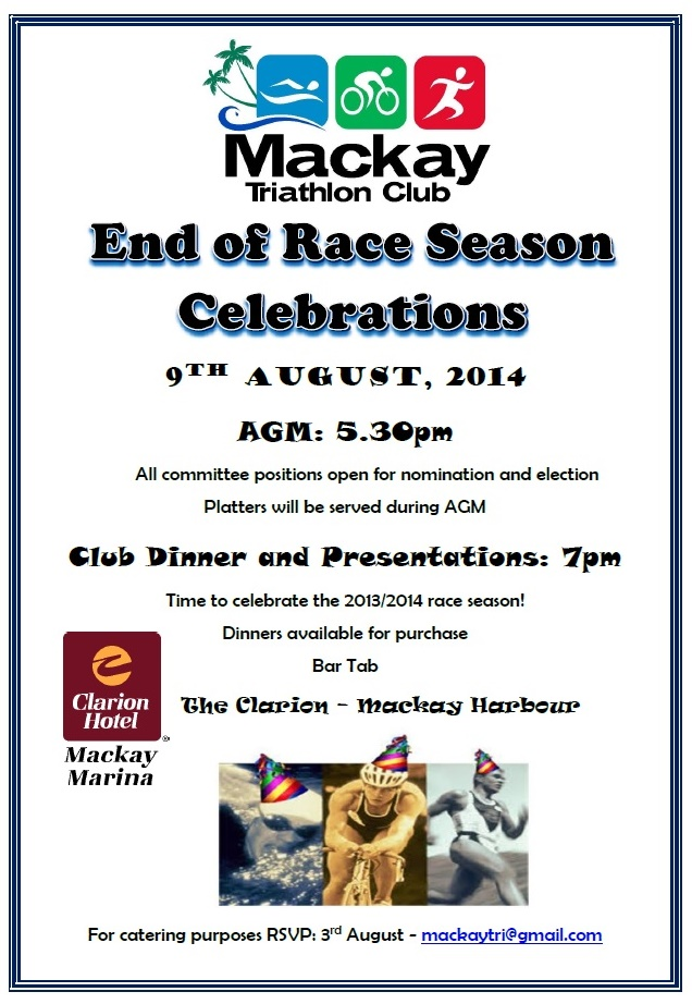 AGM and Dinner Presentations - 9th August